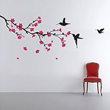 Small Picture Buy Decals Design Hummingbirds and Blossoms Wall Sticker PVC
