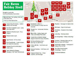 the fair haven business association sponsors this event and wants to wish all of the families in fair haven a happy holiday