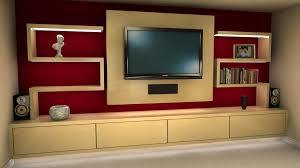 flat screen tv on wall with surround sound. wall units, tv surround cabinets built in for flat screen storage on with sound a