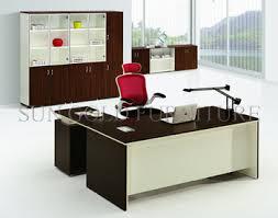 office desk l. Interesting Desk Modern Office Furniture Lshaped Teak Wood Desk SZODT653 To L