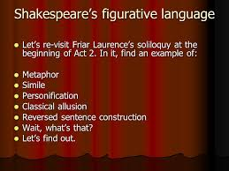 shakespearean drama the tragedy of romeo and juliet ppt  8 shakespeare s figurative
