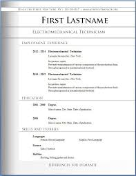 download resume format write the best resumes template formats for resumes