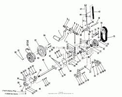 Simplicity 990705 4040 16 5hp tractor parts diagram for engine
