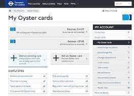 tfl zip oyster photocard
