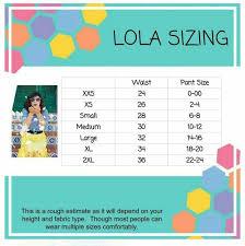 Lola Skirt Size Chart Lola Skirt Sizing With Measurements Lularoe Lola Sizing