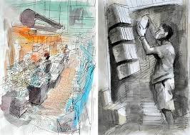architectural sketches gcse art these sketchbook