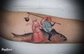 тату рыбы фотографии татуировок с рыбами тату мания