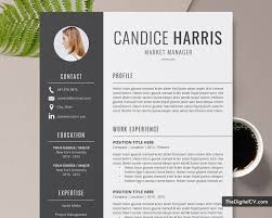 Modern 2020 Resume Template Professional Resume Template For Ms Word 2019 2020 Cv Template Cover Letter Modern Resume Creative Resume 1 3 Page Job Resume Teacher Resume