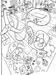 Coloring Pages Of Gravity Falls Coloring Pages Of Gravity Falls New