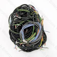 welsh enterprises inc jaguar xk140 engine electrical parts complete wiring harness xk140