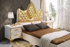 White And Gold Decor Classic Bedroom Set Modern Classic Bedroom Furniture Set