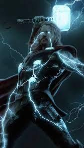 Thunder Thor Wallpaper 4k Ultra HD ID:7655