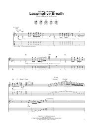 locomotive breath piano sheet music locomotive breath sheet music music for piano and more