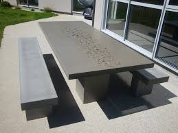 modern concrete patio furniture. Amazing Of Concrete Patio Furniture Outdoor Ideas Modern And Residence Design Suggestion O
