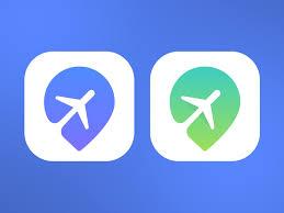 Apps Symbol Travel App Icon By Sumit Chakraborty Dribbble Dribbble