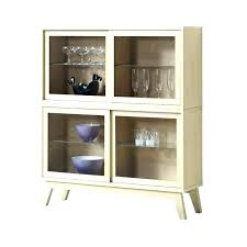 small display cabinet with glass doors medium size of perfect cabinets black corner full size