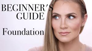 how to apply foundation for beginners makeup guide