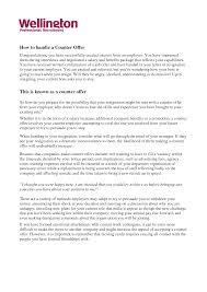 counter job offer letter letter form resume resume cover letter in counter offer letter sample