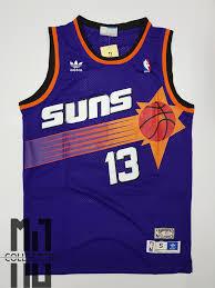 Steve Nash Suns Hardwood Classics Basketball Jersey