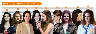 Celebrity Height Chart Tumblr Lana Del Rey Hair Height Chart How Tall Can That Bump