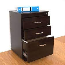 black wood storage cabinet. File Cabinets, Espresso Cabinet Wood Filing With Lock Modern Home Office Solid Black Storage