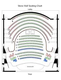 Seating Chart Manatee Performing Arts Center