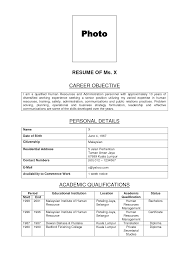 Unit Clerk Resume With No Experience 28 Images Professional