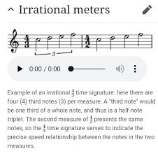 For many years, i've been tweaking my process for teaching meter/ time signatures. Irrational Meter Why The Mark Of A Triplet In 4 Half Notes Music Practice Theory Stack Exchange