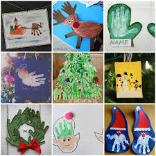 20 diy handprint and footprint kids crafts