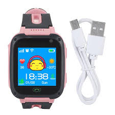 HURRISE Kid <b>Smart Watch Anti</b>-<b>lost GPS</b> Tracker Safe Touch ...