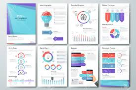 Advertising Charts And Graphs Data Visualization Brochures And Infographic Business Templates