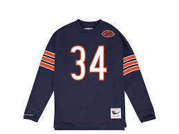 amp; Mitchell Ness Name Payton Sweater Number Walter Bears Chicago
