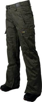 Foursquare Fuji Charcoal Dress Shirt Womens Snow Pants