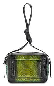 aleksandra badura bag python calfskin mini bag onyx green luxury high quality leather bag