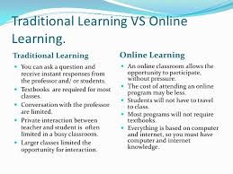 online classes vs traditional classes a learning comparison studying online vs classroom