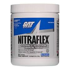 gat clinically tested nitraflex testosterone enhancing pre workout blue raspberry 300 gram