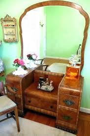 vintage vanity with mirror makeup vanity table ideas vintage dresser antique with round mirror incredible vintage
