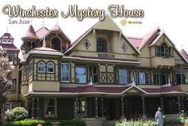 post cards winchester mystery house