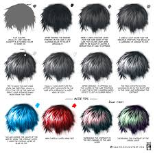 How To Draw Semi Realistic Hair