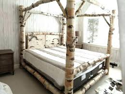 Black Wood Canopy Bedroom Sets Bed For King Size White Queen Set ...