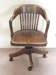 wood swivel desk chairs vintage antique barrel oak wood swivel office bankers library desk arm chair wood swivel desk chair parts