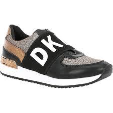 Dkny By Dana Karan Womens Marli Logo Sneakers Casuals