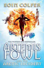 artemis fowl and the arctic incident book cover