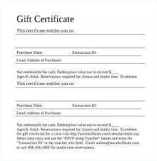 Blank Voucher Template Blank Gift Certificate Template Voucher Templates Download