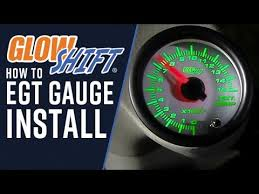 glowshift how to install an egt gauge glowshift how to install an egt gauge
