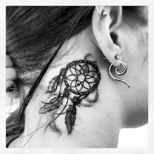 Dream Catcher Tattoo Behind Ear Dream Catcher Tattoo Behind Ear Google Search Tattoos 14