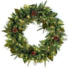 diy pre lit artificial wreaths ideas gki bethlehem lighting pre lit 30