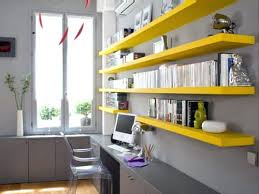 office floating shelves. cool office shelves floating shelving could add a color splash to bland environment furniture o