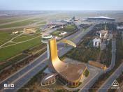 Ubbb Baku Heydar Aliyev Airport Skyvector