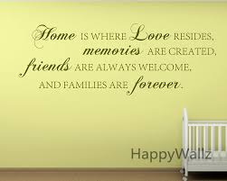 home love memories friends forever family quote wall stickers decorative diy family home lettering quote wall art decals q136 in wall stickers from home  on wall art lettering quotes with home love memories friends forever family quote wall stickers